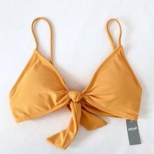 Aerie Front Tie Bikini
